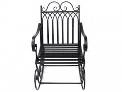 Garden Rocking Chair - Black