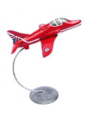 Metal Sculpture - RAF Red Arrow Jet Ornament