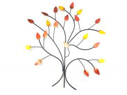 Metal Wall Art - Large Golden Autumn Tree Branch