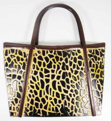 Metal Wall Art - Leopard Handbag