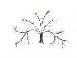 Metal Wall Art - White Birch Tree