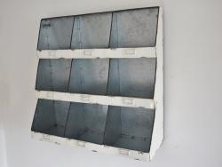 Retro Industrial Vintage Wall Storage Unit