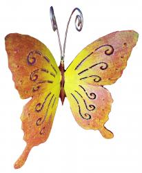 Small Metal Ornament - Butterfly