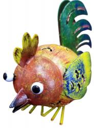 Small Metal Ornament - Rooster Chicken