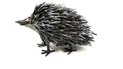 Metal Hedgehog Ornament