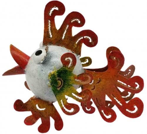 Small Metal Ornament - Tropical Fish