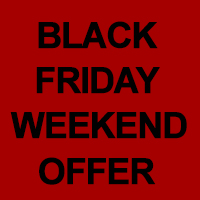 Free Delivery for UK Mainland over the Black Friday 2020 Weekend!!!